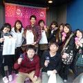 2014.1.18 夏にボランティアに来てくださった九州大学のみなさんがご来店!おひさしぶりですー♡変わらない笑顔と元気をありがとうございました!
