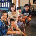 2014.8.4 九州から佐保ちゃん夫婦と広島からのお客様ご来店!遠くにいても、こんなふうにご縁をつないでいただけていることに、心から感謝です!これからもよろしくお願いします!!