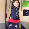 2014.6.5 可愛らしい高校生のみほちゃん!オーダーメイドのバッグ、ご注文ありがとうございました!!とっても似合ってます♡素敵ですよ〜♡♡