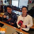 2019.3.26 久々のツーショット♪名古屋の坂口さんと神奈川の神保さん、お久しぶりです(*^^*)