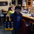 2014.12.2 かわいいお客様♡おばあちゃんへのプレゼントを選びにきてくれて、あったかい気持ちになりました!ありがとうございましたー♡