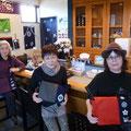 2014.11.15 気仙沼生まれ・東京在住のお客様と、気仙沼在住のお客様が連れ立ってご来店♡三人様でそれぞれお似合いのメッセンジャーバッグをお買い上げいただきました!ありがとうございました♡