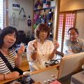 2014.8.8 大阪からご来店の、中学校の先生たち!1年越しで縁に来るのを楽しみにされていたそうで、感激しました!!本場の大阪弁が聞けて超嬉しかったです♡ありがとうございました!