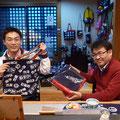2014.11.11 名古屋からお仕事で気仙沼に来られたお客様!カバンを一目惚れでお買い上げいただきましたー♡ありがとうございました!