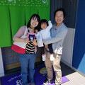 2018.5.26 東京の足名ファミリー♡自称3歳だけど2歳のお嬢様がなんとも可愛いくって楽しい時間でした(*^^*)