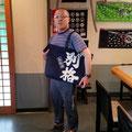 2019.7.3 遠藤さん、GANBAAREの商品たくさんお持ちでビックリ!です。何時もありがとうございます(*^^*)