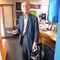 2014.6.10 奈良からお仕事で気仙沼に来られたという足高様!おみやげにバックたくさん買って頂きました☆ありがとうございました!!