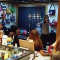 2014.10.13 バイオリン奏者のMAKIさんがお店でまさかのミニライブ!超感激!レア!勿体ないーーっっ!!大興奮のひと時でしたー♡♡ありがとうございました!!