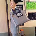 2014.9.18 ビジネスバッグが超お似合いのイケメン!さて、誰でしょう??(似てますね〜!)ご来店ありがとうございました!!