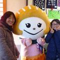 2013.12.15 お客様とふかひれちゃん、楽しそうに記念撮影していただきました☆