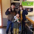 2019.3.26 仙台の鈴木ファミリー!また来てね(^_^)vいかお君です♥