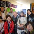 2014.4.12 大阪からのお客様!とても温かい家族のような方々でした。この後気仙沼シャークミュージアムにも行かれたそうで、是非またいらしてお話聞かせてください!