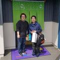 2019.4.29 沖縄から琉球帆布ファクトリーのお二人がわざわざGANBAAREに会いに来てくださいました。ありがとうございます(*^^*)