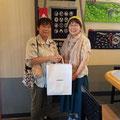 2019.8.19 東京からのお客様♪わざわざお店を探して来てくださいました。本当に感謝です(*^^*)