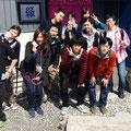 2014.3.31 鶴見大学の皆さんがご来店!春休みを利用して地元の小学校の学習支援に来られたそうです!とっても優しいお兄さん、お姉さん達でした〜☆
