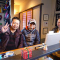 2013.12.15 秋田からお越しいただいた、3人組のとっても優しい雰囲気のお客様。ほやぼーやをとても気に入ってくれました!