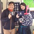 2014.3.1 ラジオのパーソナリティーやレストラン経営などなど幅広く御活躍の斉藤美絵さんがご来店!たくさんの元気をいただきましたー♡