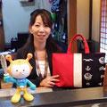 2014.5.22 GANBAAREの鞄大好き女子ミッチーがご来店☆いつもありがとうございます!!