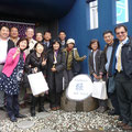 2014.12.3 台湾からのお客様!大学の先生方、教育関係の方々が来日ツアーの行程にガンバーレを選んでご来店くださいました!素敵なご縁をありがとうございました!!