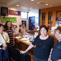 2014.8.30 気仙沼の方が、古川と石巻からお客さまを連れてきてくださいました!素敵なマダムたちに心が和むひとときでしたー♡みなさん、たくさんご購入いただきありがとうございました!