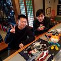 2018.3.21 九州大学時代から気仙沼に通っている松尾君が今年も来てくれました。嬉しい(*^^*)