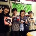 2014.10.23 仙台の検診車の皆さんがご来店!素敵な笑顔をいただきましたー♡またのご来店をお待ちしております!!