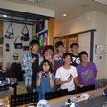 2012.6.23  九州から車で24時間かけてお客様が気仙沼に遊びにいらっしゃいました。