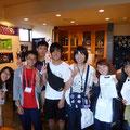 2014.8.31 ボランティアで気仙沼に来てくれている九州大学のみなさん!商品いろいろご購入いただきありがとうございます!みなさん綺麗に使ってくれるので、とても嬉しいです♡またご来店くださいませ!!