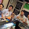 2014.7.21 鈴木あいちゃんと安本美緒ちゃんのライブに東京からいらしたとしりんご一行♡楽しいひとときをありがとうございました♡ぜひまたお越しくださいませ!!