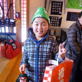2014.1.4 かわいいお客様!剣道をやっているイトウ君♡福袋をお買い上げいただきました。ありがとうございました!