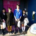 2014.4.17 東京からお越しの高校生4人組!食を通じて気仙沼を発信するプロジェクトに参加しているとのことで気仙沼まで来てくれました!学生さんからは毎回元気をもらいます!また来てくださいね♡
