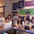 2014.8.13 学生ボランティアチームとして被災地で活動している鶴見大学の皆さん!暑い中、気仙沼に来ていただき本当にありがとうございます!!