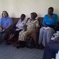 Erstes meeting in Kakamega.