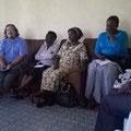 Erstes meeting in Kakamega.