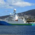 CSIRO (Commonwealth Scientific and Industrial Research Organization) ship Investigator