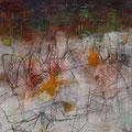 o. T., Acryl auf Holz, 50x50 cm, 2015 (0115)