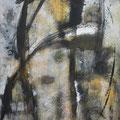 Magische Zeichen, Acryl/Lw., 90x70 cm, 2012 (1205)