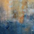 """Lithos VI"", Acryl/Lw., 60x60 cm, 2018 (1805)"
