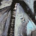 """""""Ghiaccio blu"""", Acryl/Lw., 80x100 cm, 2018 (1807)"""