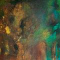 Farbfluss II, Acryl/Lw., 100x120 cm, 2012 (1227)