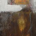 Erinnerungsspeicher II, Acryl, Kreide auf Lw., 90x30 cm, 2010 (1004)
