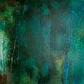 Farbfluss I, Acryl/Lw., 100x120 cm, 2012 (1226)