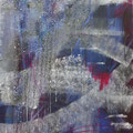 Kritzung II, Acryl/Lw., 100x80 cm, 2014 (1405)