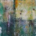 Roter Faden, Acryl/Lw., 40x50 cm, 2014 (1412)