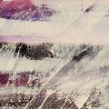Hot white II,  Acryl/Lw., 50x70 cm, 2013 (1302)
