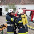 Atemschutzübung der Unterabschnitte Wildendürnbach und Neudorf - 26.04.2012