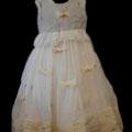 Princess Dress, l'abito da bimba in chiffon di seta e tessuto in seta feltrato a mano del duo Meghan Mc Guffin – Rosanna Bassani