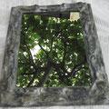 Pietra, la specchiera realizzata con materiale di recupero di Forma