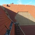 Nur auf dem Dach, da fehlt es noch...