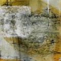 earth song 5.  11/2015. Mischtechnik auf Papier. 21x21 cm